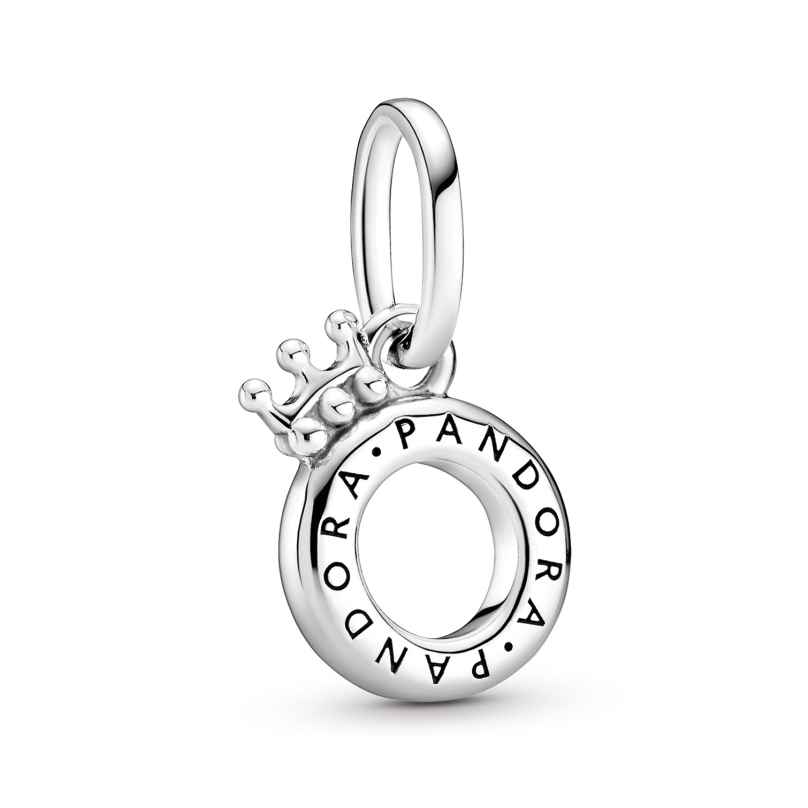 Pandora 399043C00 Offener Pandora Crown O Anhänger Silber 5700302886795