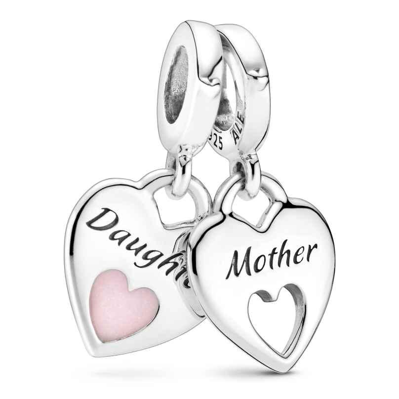Pandora 799187C01 Silver Dangle Charm Mother & Daughter 5700302899306