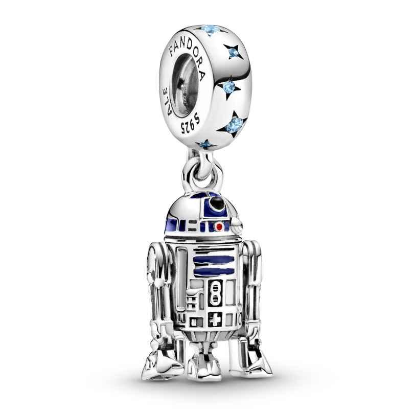 Pandora 799248C01 Silber Charm-Anhänger R2-D2 5700302901283