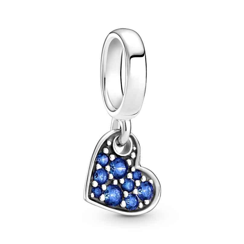 Pandora 799404C01 Charm-Anhänger Blaues Pavé Herz 5700302923070