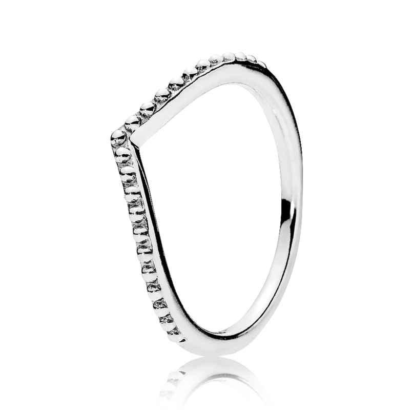 Pandora 196315 Ladies Ring Pearl-Shaped Wish