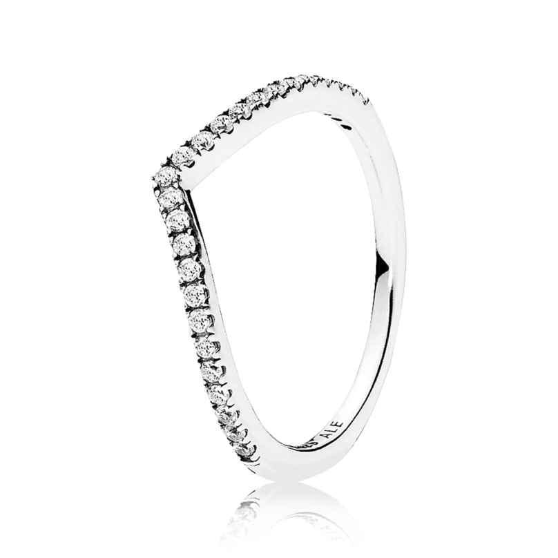 Pandora 196316CZ Ladies Ring Sparkling Wish