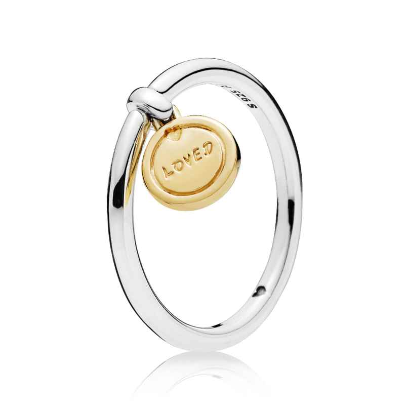 Pandora 167823 Shine Damenring Medallion of Love