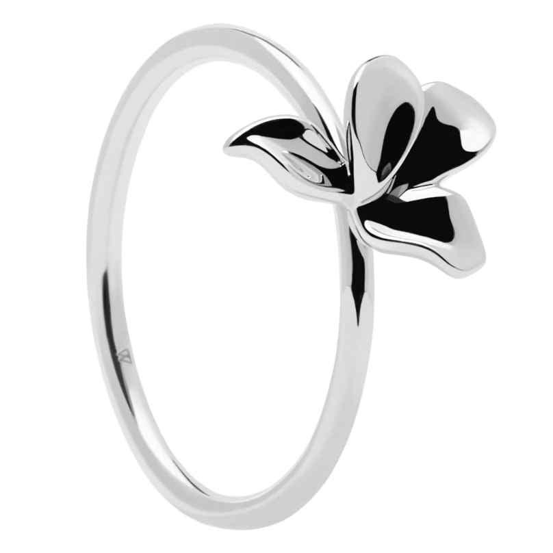 P D Paola AN02-182 Damenring Narcise Silber