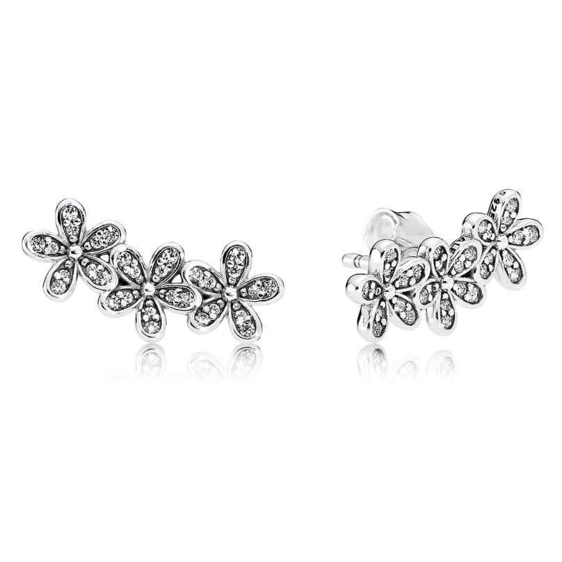Pandora 290744CZ Ladies Stud Earrings Glamorous Daisies 5700302548471