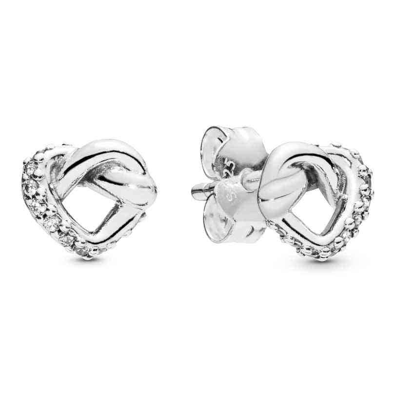 Pandora 298019CZ Damen-Ohrringe Knotted Hearts 5700302775600