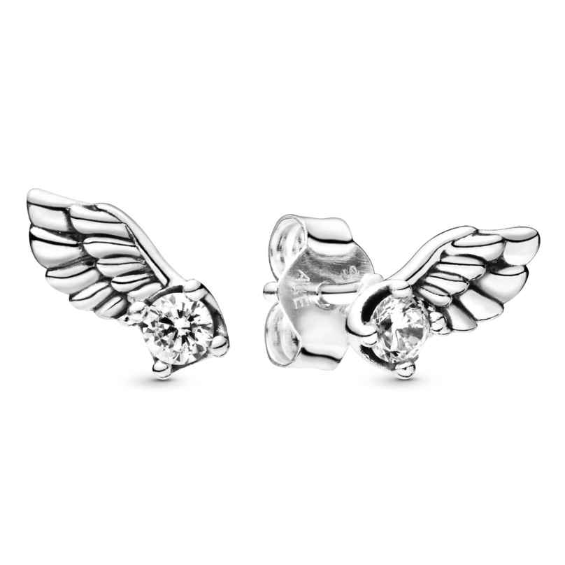 Pandora 298501C01 Damen-Ohrringe Sparkling Angel Wing 5700302827576