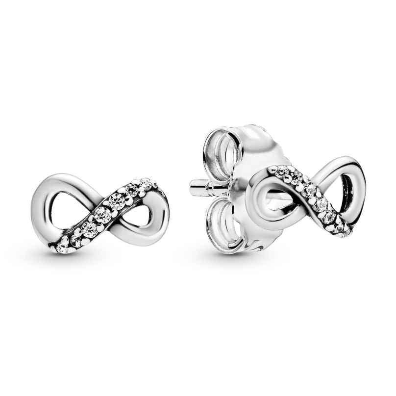 Pandora 298820C01 Damen-Ohrstecker Ohrringe Funkelnde Unendlichkeit 5700302863703