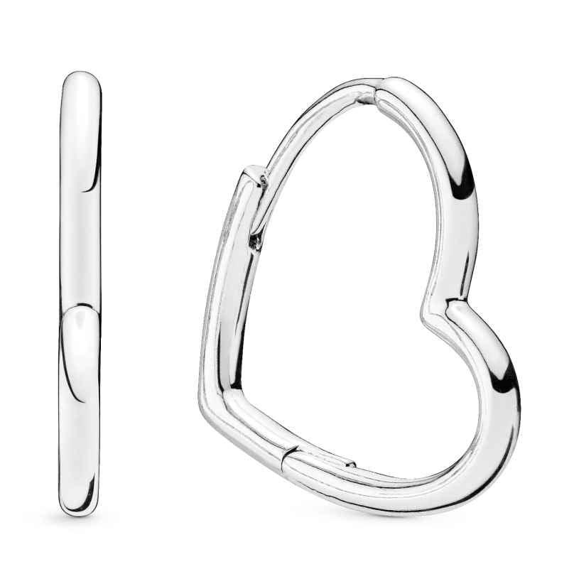 Pandora 298307C00 Ladies´ Earrings Asymmetrical Heart 5700302896008