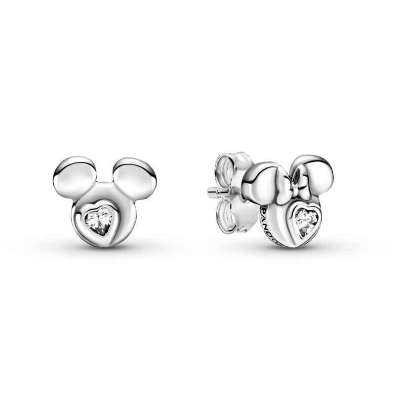 Pandora 299258C01 Damen-Ohrringe Ohrstecker Micky und Minnie Maus 5700302908336