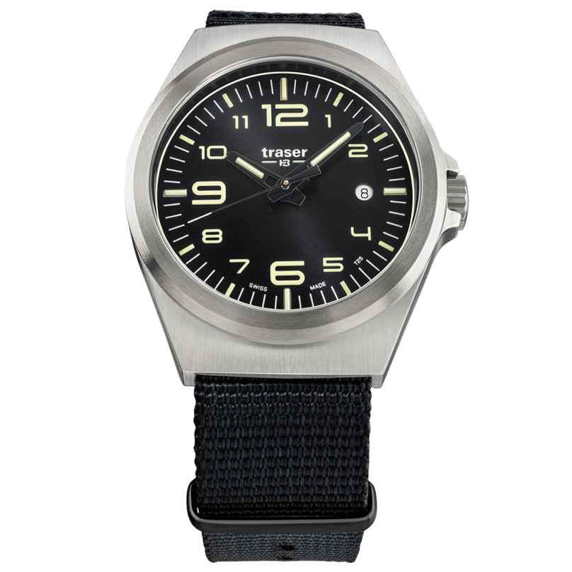 traser H3 108638 Men´s Wristwatch P59 Essential M Black 7630027704105