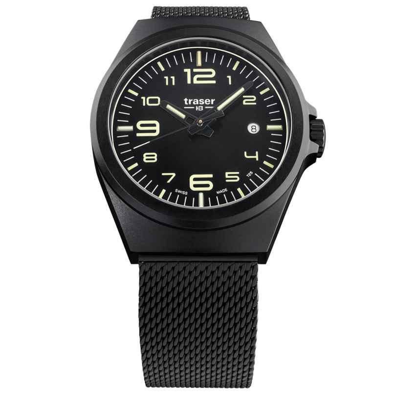 traser H3 108206 Herren-Armbanduhr P59 Essential M Schwarz 7630027703849