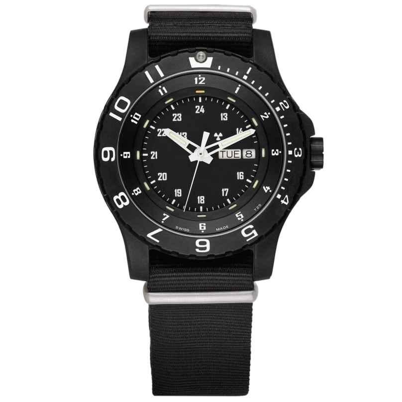 traser H3 100269 Herren-Armbanduhr P66 Type 6 MIL-G Schwarz Natoband 7630027700053