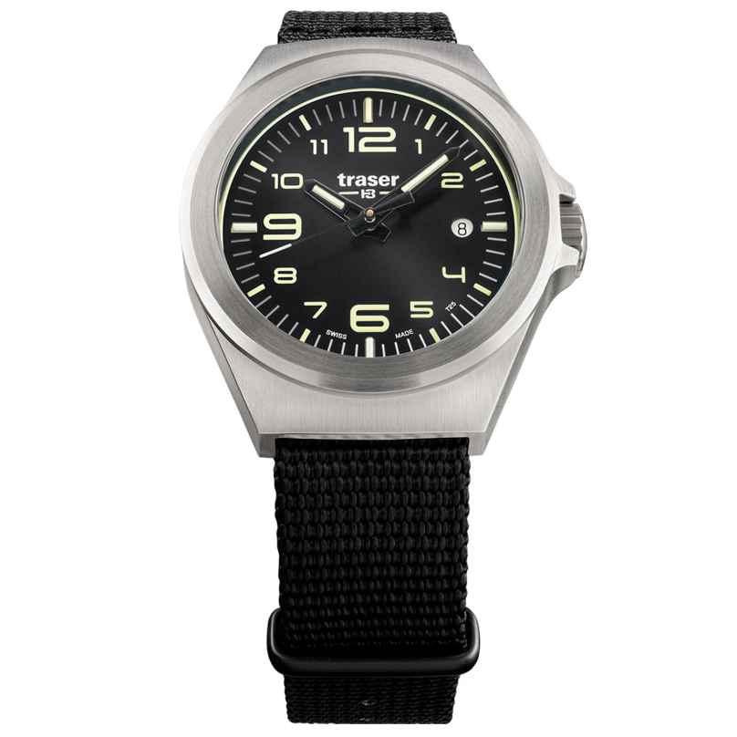 traser H3 108637 Armbanduhr in Unisexgröße P59 Essential S Schwarz 7630027704099