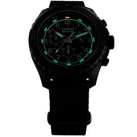 traser H3 108680 Men's Watch P96 OdP Evolution Chrono Black