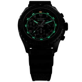 traser H3 108679 Men's Watch P96 OdP Evolution Chrono Black