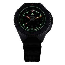 traser H3 109854 Herrenuhr P69 Black Stealth Schwarz mit Natoband
