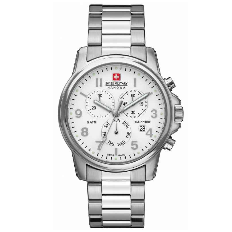 Swiss Military Hanowa 06-5233.04.001 Soldier Chrono Prime Herrenuhr 7612657083935
