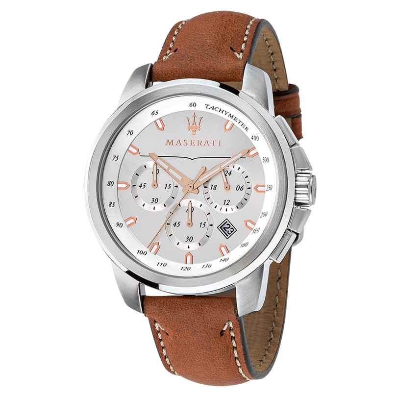 Maserati R8871621005 Successo Chronograph Herrenuhr 8033288702252