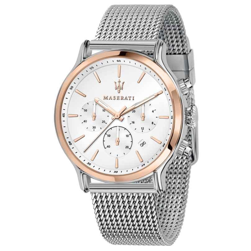 Maserati R8873618009 Men's Watch Chronograph Epoca Two-Colour 8033288892694