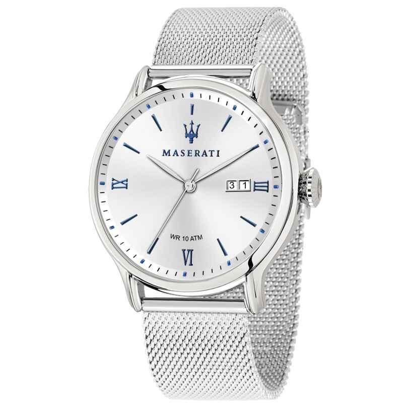 Maserati R8853118012 Men's Wristwatch Epoca with Mesh Bracelet 8033288813637