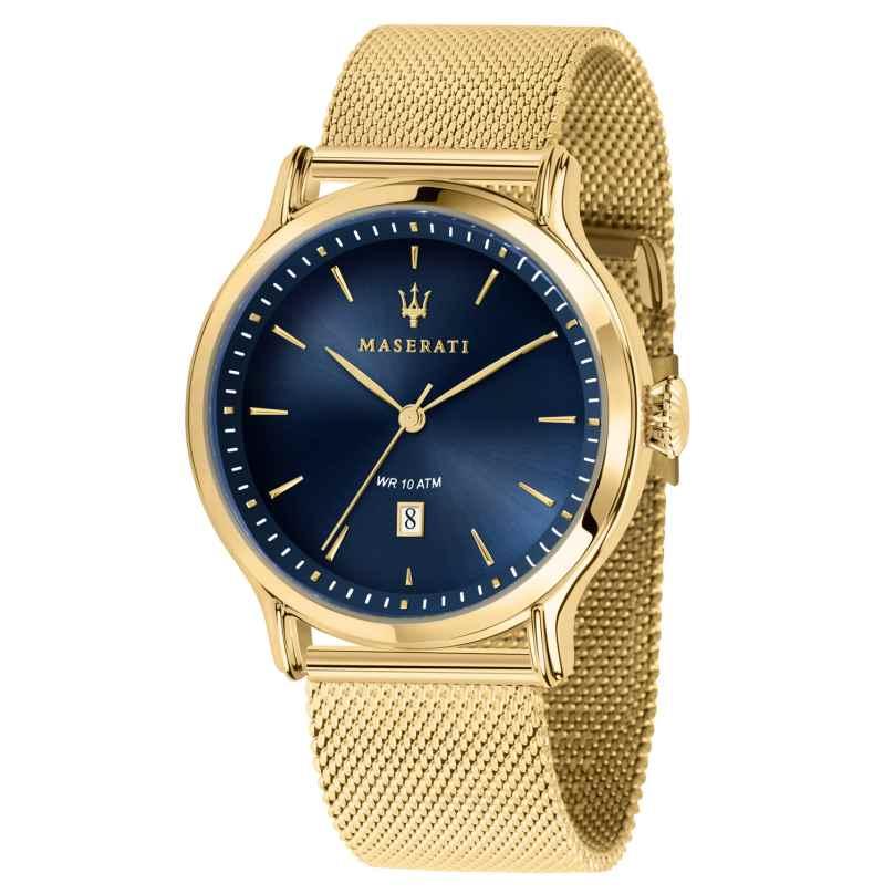 Maserati R8853118014 Men's Watch Epoca gold/blue 8033288861140