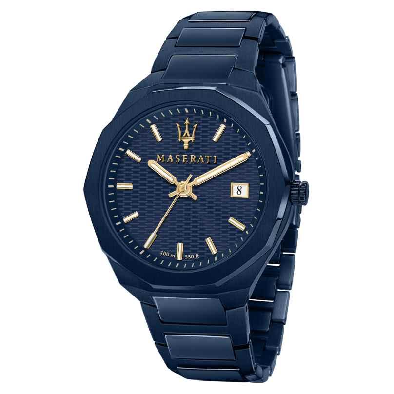 Maserati R8853141001 Herrenuhr Blau 8033288907060