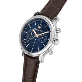 Maserati R8871618014 Herrenuhr Chronograph Epoca Braun/Blau