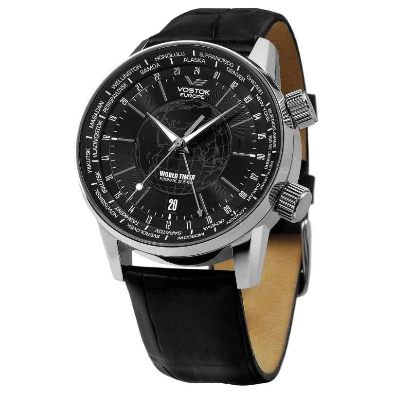 Vostok Europe 5605239 World Timer Automatikuhr 4260157445222