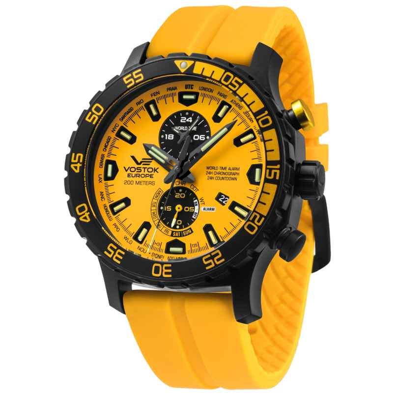 Vostok Europe YM8J-597C548 Herren-Armbanduhr Expedition Everest Underground 4260157448018