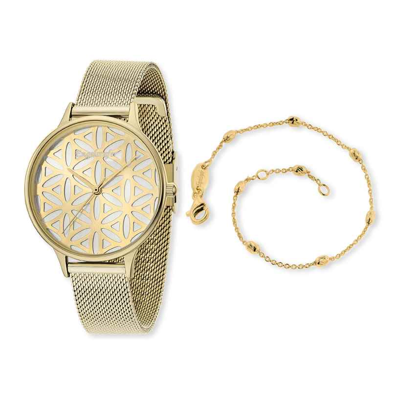 Engelsrufer ERWO-LIFL-01 Damenuhr Lebensblume Set mit Armband 4260562160765