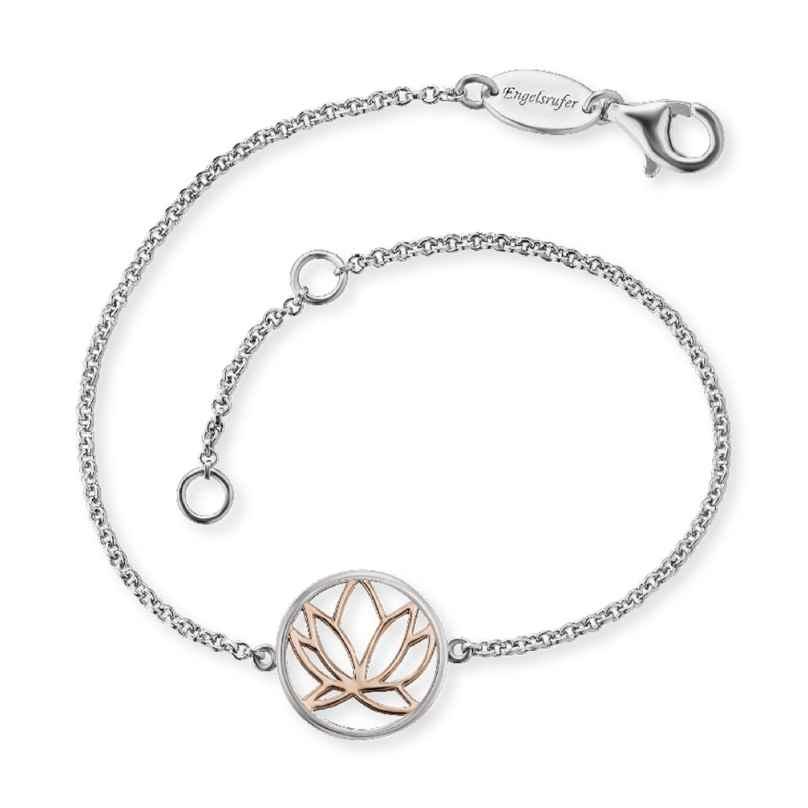 Engelsrufer ERB-LILLOTUS-BICOR Silber-Armband für Frauen Lotus 4260562160802