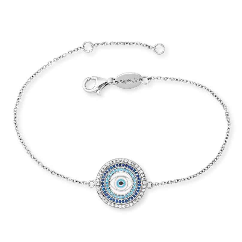 Engelsrufer ERB-EYE-ZIM Silber-Armband für Damen Lucky Eye 4260645869653