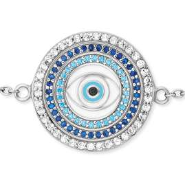 Engelsrufer ERB-EYE-ZIM Silver Bracelet for Ladies Lucky Eye