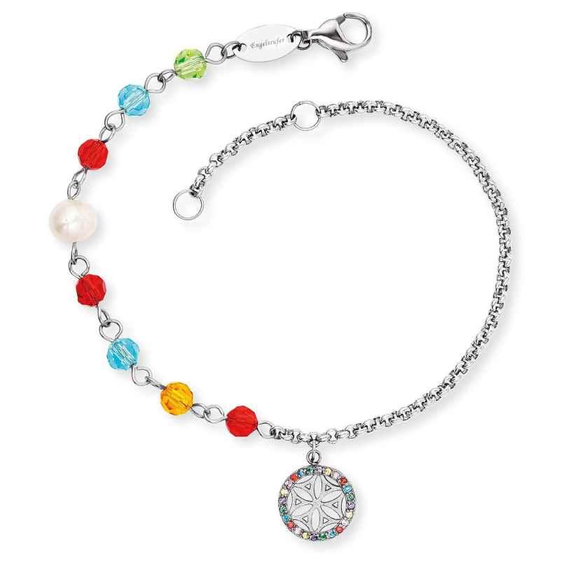 Engelsrufer ERBS-LILLIFL-ZIM Damen-Armband Boho Lebensblume bunt 4260645864474