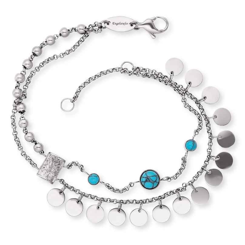 Engelsrufer ERBS-TREE-ZI Ladies' Bracelet Boho Tree of Life 4260645864412