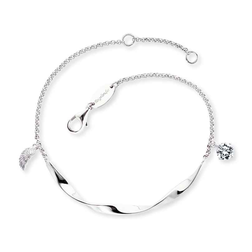 Engelsrufer ERB-TWIST-WING-ZI Silber-Armband für Damen 4260645863033