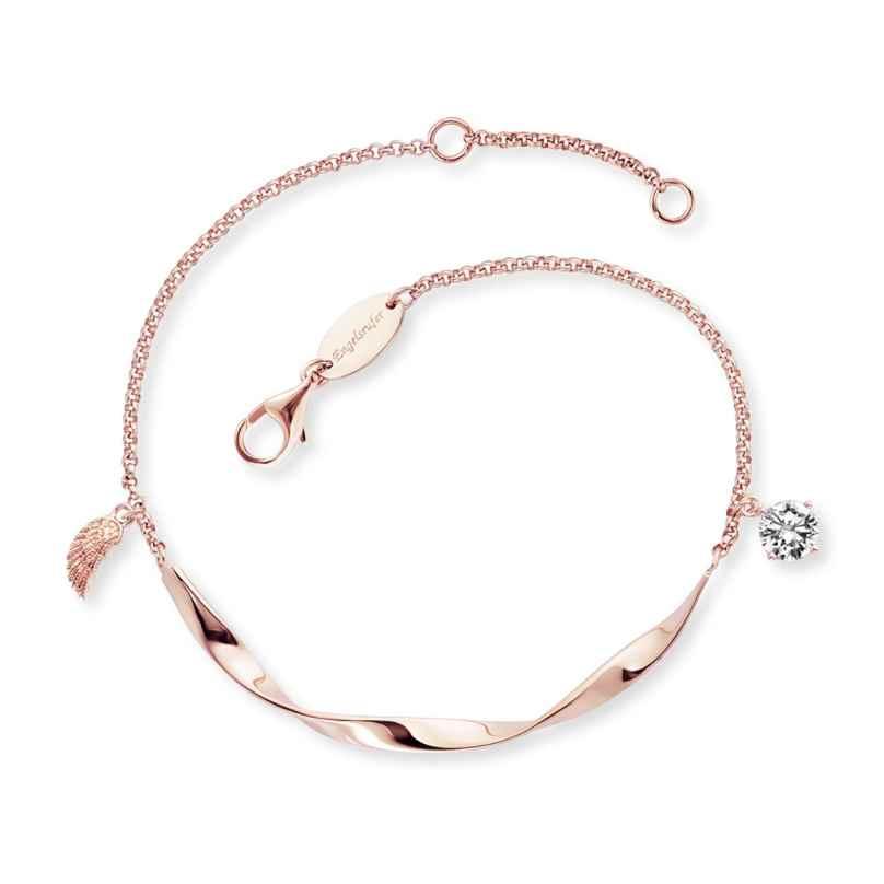 Engelsrufer ERB-TWIST-WING-ZI-R Damen-Armband Silber roségoldfarben 4260645862814