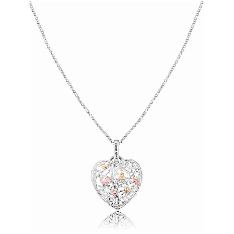 Engelsrufer ERN-HEARTTREE-TRICO Halskette mit Lebensbaum Herz-Anhänger 4260463197471