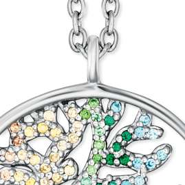 Engelsrufer ERN-TREE-ZIM Ladies' Necklace Tree of Life multicolour