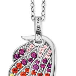 Engelsrufer ERN-WING-ZIM Silver Ladies' Necklace Wing multicolour