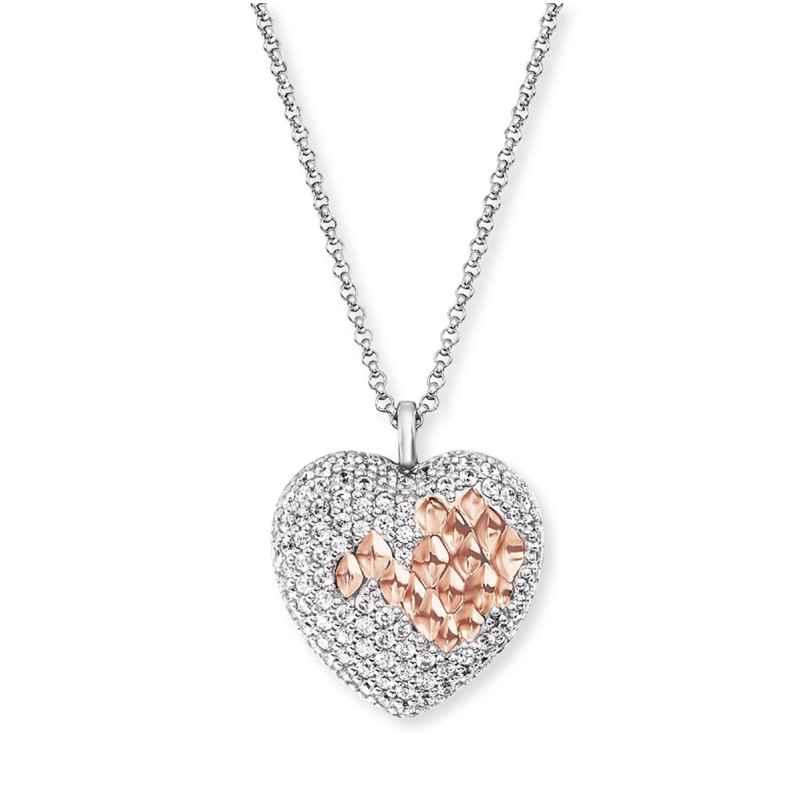 Engelsrufer ERN-DARLING-ZI-BIR Damen-Halskette Silber Herz mit Zirkonia 4260645863323