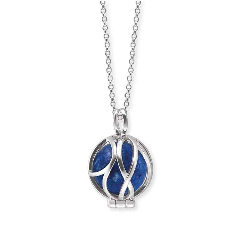 Engelsrufer ERN-HEALPARA-LP-XS Silberkette für Damen Kraftstein Lapislazuli XS 4260645862616
