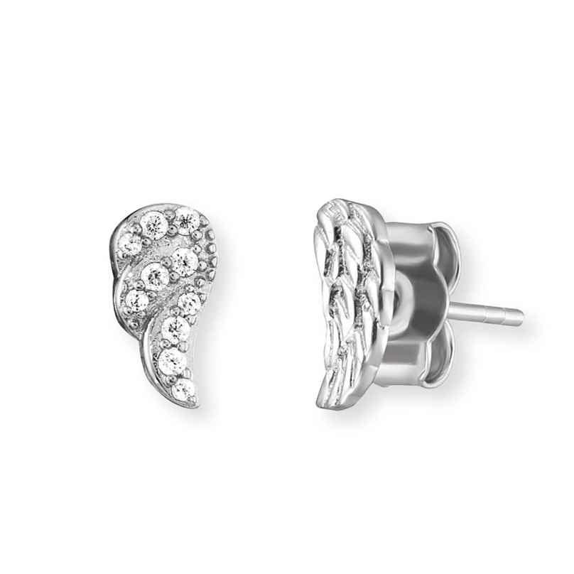 Engelsrufer ERE-2WING-ZI Damen-Ohrringe Flügel mit Zirkonia Silber 4260645862913