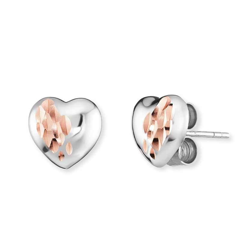 Engelsrufer ERE-ME-HEART-BIR Damen-Ohrringe Ohrstecker Herz Silber 4260645863316