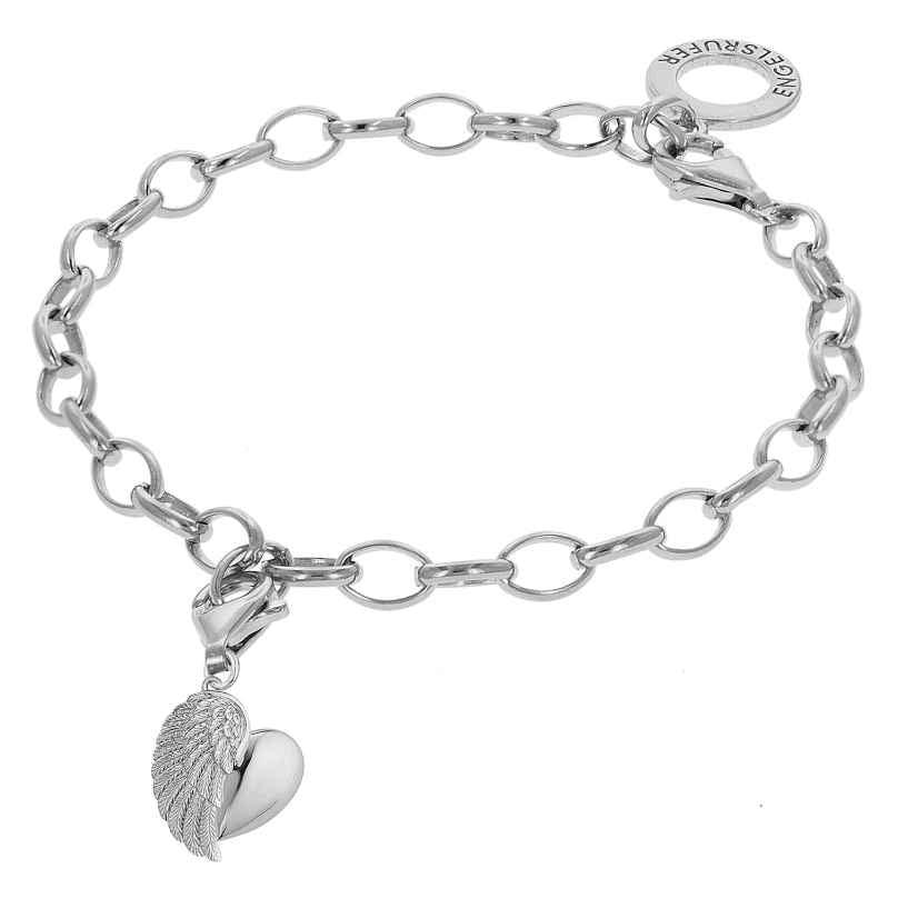 Engelsrufer 78155 Silver Bracelet With Wing Heart 4260333978155
