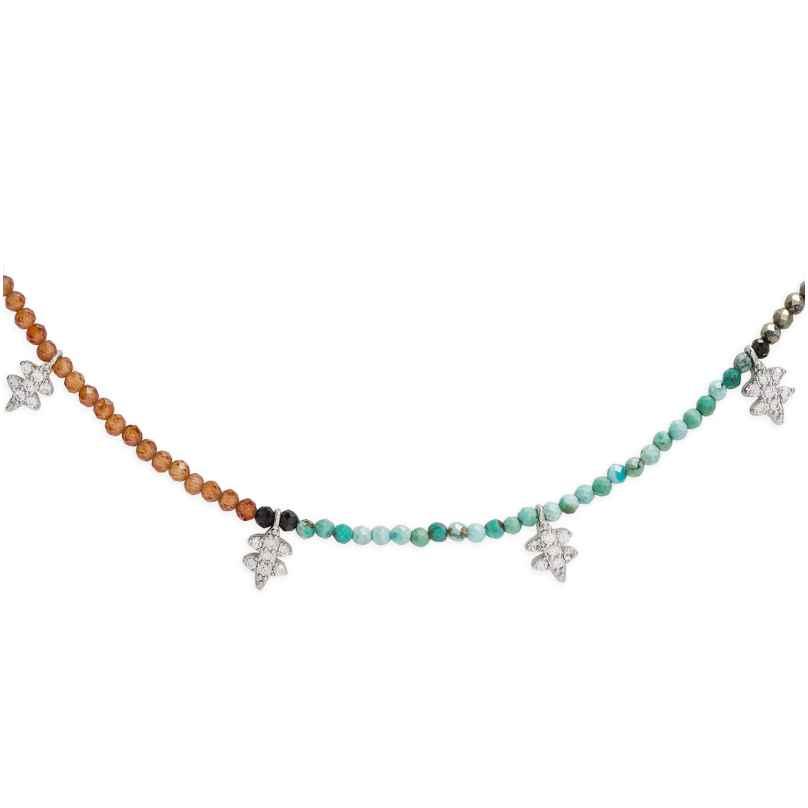 Hipanema H19DEEPTU Damen-Halskette Deepsy Turquoise 3700839110082