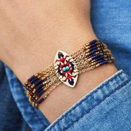 Hipanema H19MBALTGO Damen-Armband Baltik Goldfarben