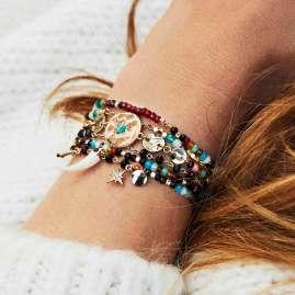 Hipanema H19MEXTAMUL Damen-Armband Extase Multi