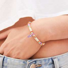 Hipanema E19MACYBE Women's Bracelet Macy Beige